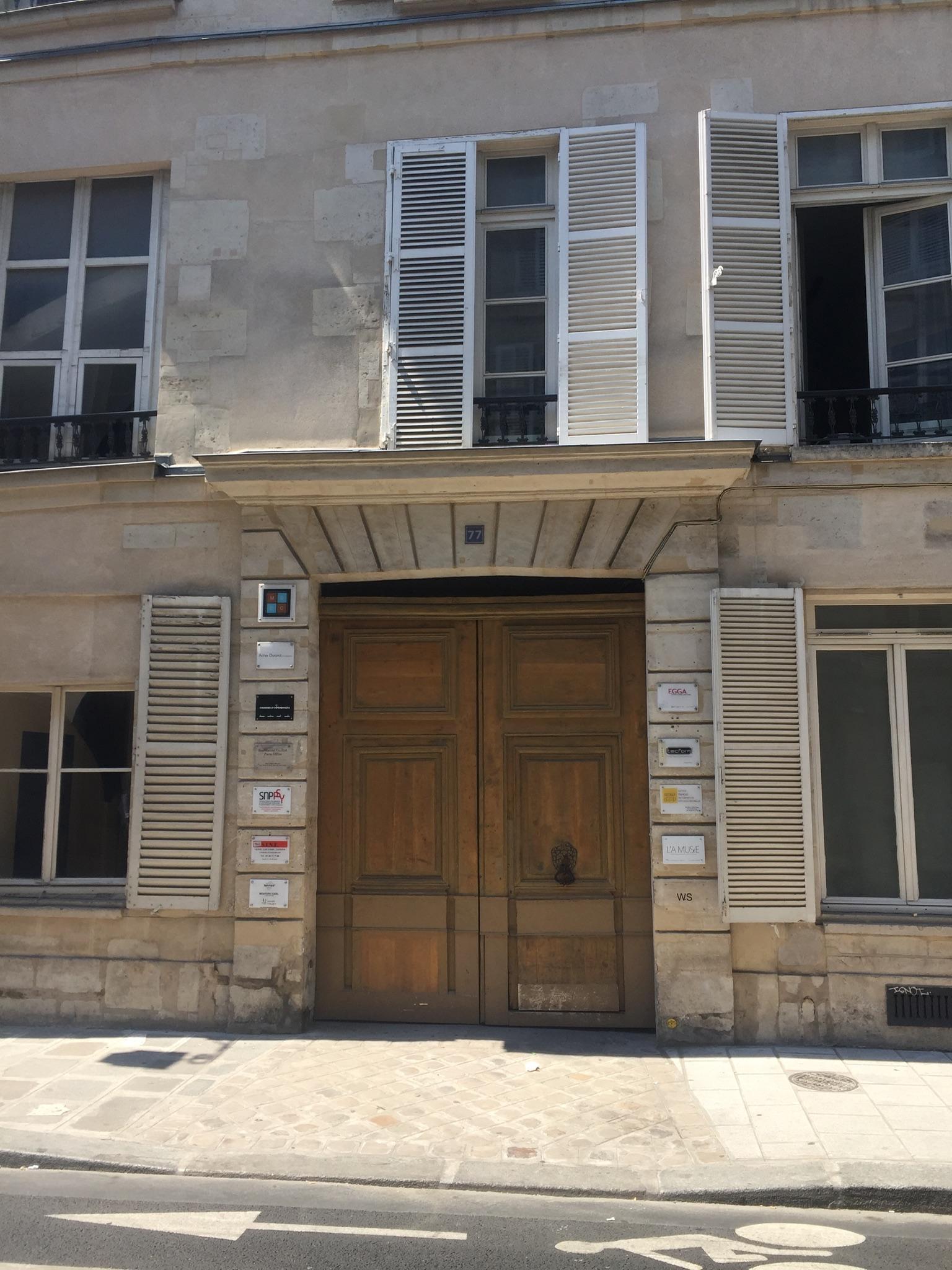 Neue Praxis Paris Marais